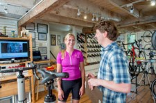 If you are completing an Existing Bike Fit, we review your riding position and provide recommendations on changes you can make to your existing bike.
