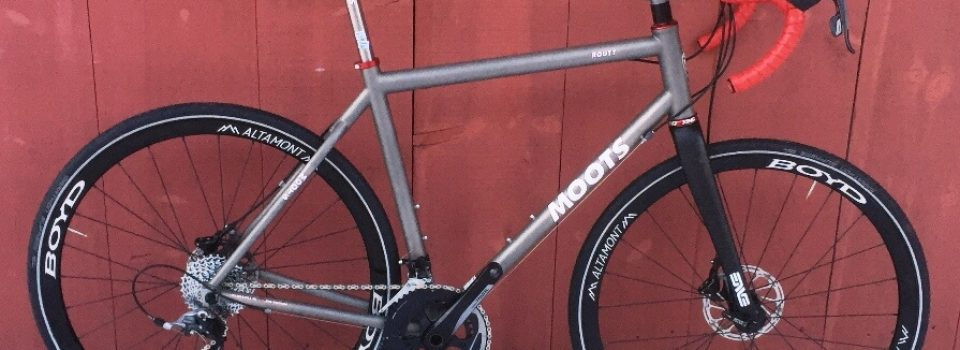 Moots Routt Titanium Adventure-Gravel Road Capable Bike Review