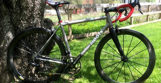 Learn a bit more about what we like about Moots titanium